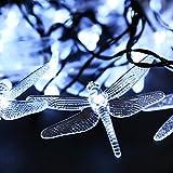 Fanala Garden Home Christmas Party Decoration Solar Powered 30 LED String Light