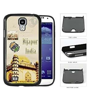 Bijapur India Temple Postcard Hard Plastic Snap On Cell Phone Case Samsung Galaxy S4 SIV I9500