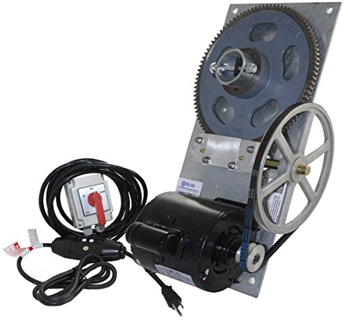 4,000 lb. Standard Flat Plate Boat Hoist Combo (One Box) - Aluminum Plate/Maintained Switch/110v/16 ft. Control Cable