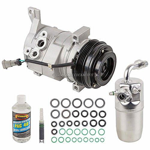 AC Compressor w/A/C Repair Kit For Chevy Silverado 1500 & GMC Sierra 1500 - BuyAutoParts 60-81584RK NEW