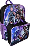 """Ruz Marvel Black Panther Nakia Girl's 16"""" Backpack with Detachable Lunch Box"""
