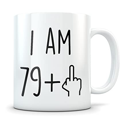 Amazon Funny 80th Birthday Gift Mug 80 Year Old