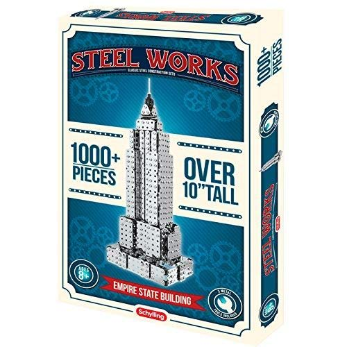 Schylling Steel Works Empire State Building Construction - Girder Panel Toy