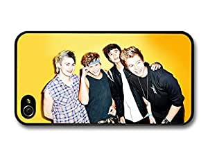 diy case 5 5s Seconds Of Summer Yellow Background Boyband case for iPhone 5 5s