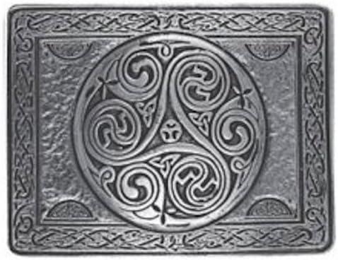 Fundido con tabla diseño floral de color Triskell hebilla cinturón ...