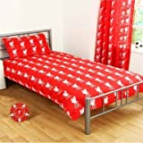 Liverpool FC Reversible Single Duvet Cover Set with