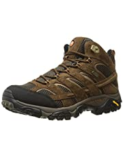 Merrell Men's Moab 2 Mid Waterproof Hiking Shoe