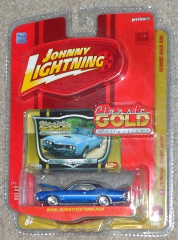 Cyclone Spoiler (Johnny Lightning Classic Gold Collection R39 '70 Mercury Cyclone)