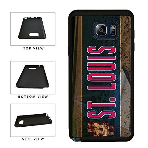 BleuReign(TM) Hashtag St Louis #St Louis Baseball Team TPU RUBBER SILICONE Phone Case Back Cover For Samsung Galaxy S8 Plus
