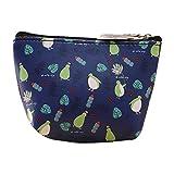 Pulison(TM) Women Girls Cute Fashion Coin Purse Wallet Bag Change Pouch Key Holder (Dark Blue)
