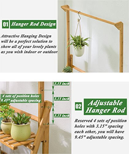 Natural 10 Pieces Hanging Planter Flower Pot Plant Holder Basket Jute Rope Holder for Indoor Outdoor Garden Home Decorations KICOCO Plant Hanger