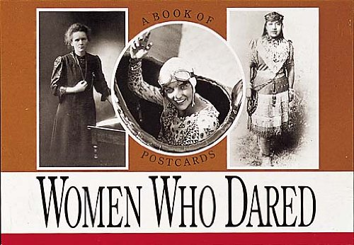 Books : Women Who Dared, Vol. I: A Book of Postcards