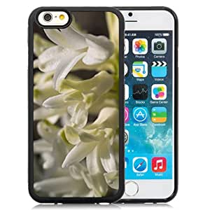 New Custom Designed Cover Case For iPhone 6 4.7 Inch TPU With White Hyacinth Flower Mobile Wallpaper Phone Case