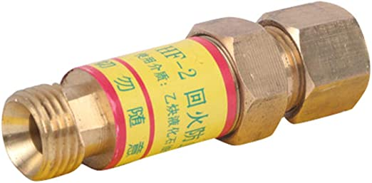 Oxygen Acetylene Check Valves Flash Back Arrestor for Reducer Cutting Torch
