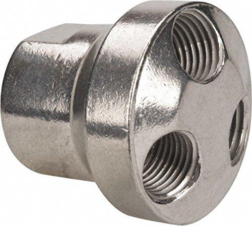3/8'' ID, Air Hose Manifold, Aluminum by Coilhose Pneumatics