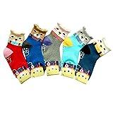 Children Anti Skid Winter Thick Socks 5Pairs (3-4Y)