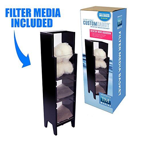 Innovative Marine Customcaddy - Purity Pack Media Included - Desktop (Pet Basket Resin)