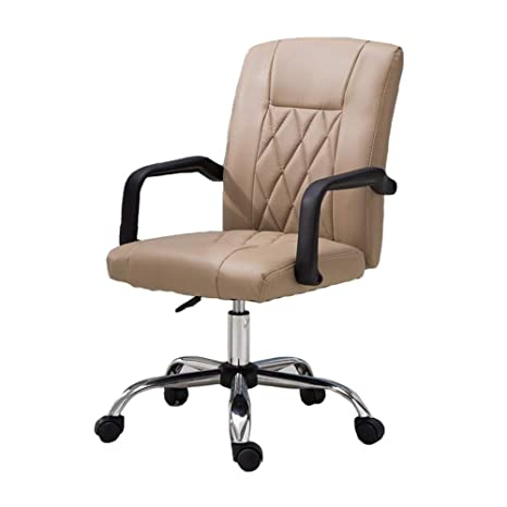 Amazon.com: Silla de oficina Dall, asiento de poliuretano ...
