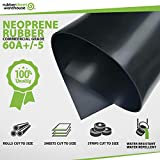 """Rubber Sheet Warehouse .125"""" (1/8"""") Thick x"""