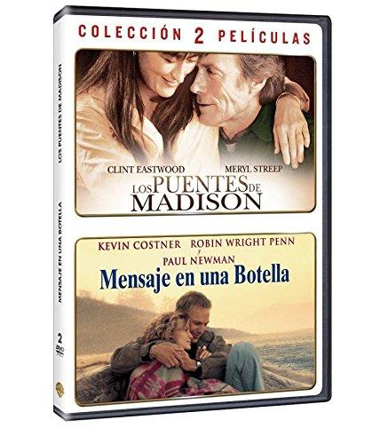 Pack Los Puentes De Madison + Mensaje En Una Botella DVD: Amazon ...