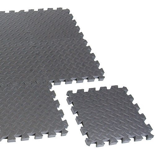 CAP Barbell Puzzle Mat Equipment Mat (Black) (Mat Equipment Cap Barbell)