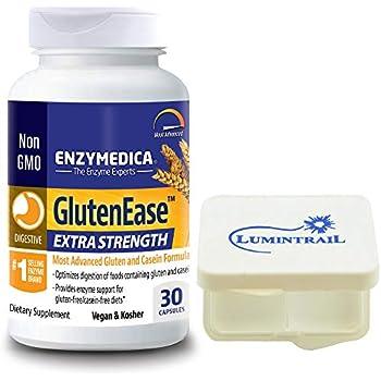 Amazon.com: Enzymedica, GlutenEase, Digestive Aid for Gluten ...