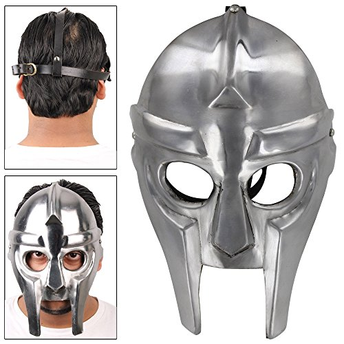MedievalDepot Supervillian MF Doom Underground Rapper Mask