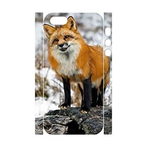 VNCASE Fox Phone Case For iPhone 5,5S [Pattern-1]