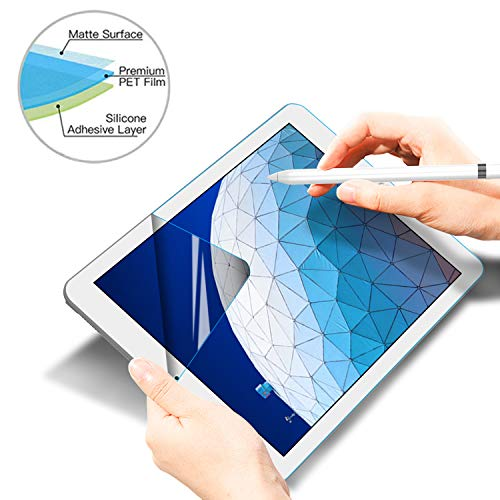 Soke iPad Air 3 Screen Protector Paper-Like[Scratch Resistant][Paperlike Film Writing][High Touch Sensitivity] for New Apple iPad Air 3rd Gen 2019/ iPad Pro 10.5 Inch 2017 ()