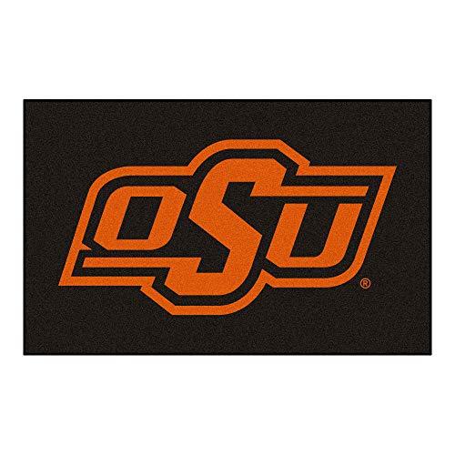 Oklahoma State University Logo Area Rug -