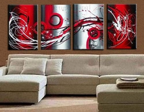 Amazon 100 Hand Painted Art Oil Painting on Canvas 4 Piece – Canvas Wall Art Ideas