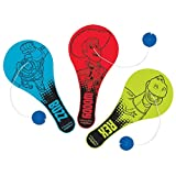 Amscan Toy Story Power up Birthday Party Paddle Ball Favor (12 Pack), 4