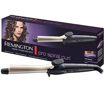 Remington Ci5319 Pro Spiral Curl - Moldeador de pelo, pinza de 19 mm, hasta 210º C, calentamiento en 30 segundos: Amazon.es: Salud y cuidado personal