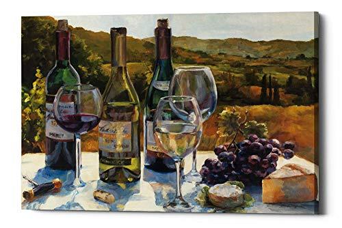 Epic Graffiti A Wine Tasting Giclee Canvas Wall Art, 18 x 26
