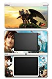 How to Train Your Dragon 2 3 Hiccup Toothless Astrid Stoick Video Game Vinyl Decal Skin Sticker Cover for Nintendo DSi XL System