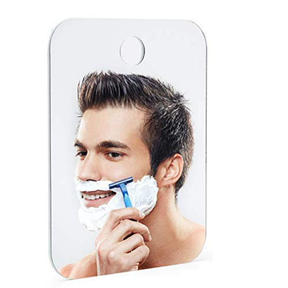 Fog Free Shower Mirror Fogless Shatterproof Large For Shaving Shadowless Hook