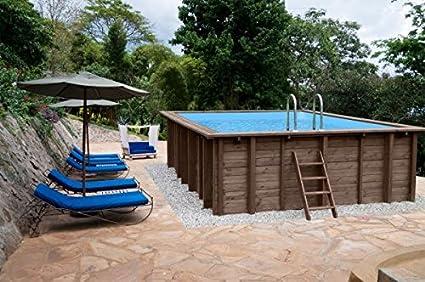 Piscina Summer Oasis, Jardín Piscina de y 96188, madera ...