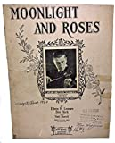img - for MOONLIGHT AND ROSES sheet music book / textbook / text book