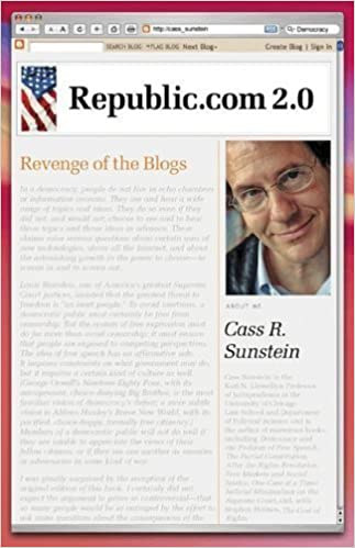Book Republic.com 2.0 by Sunstein, Cass R. published by Princeton University Press (2009)
