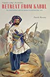 Front cover for the book Retreat from Kabul: The Catastrophic British Defeat in Afghanistan, 1842 by Patrick Macrory