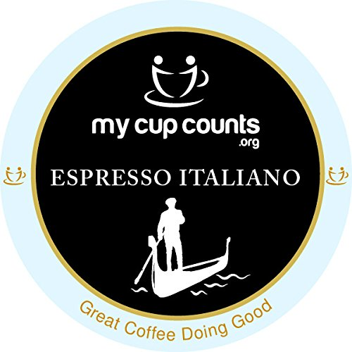 My Cup Counts K Cup Coffee, Espresso Italiano, 48 Count