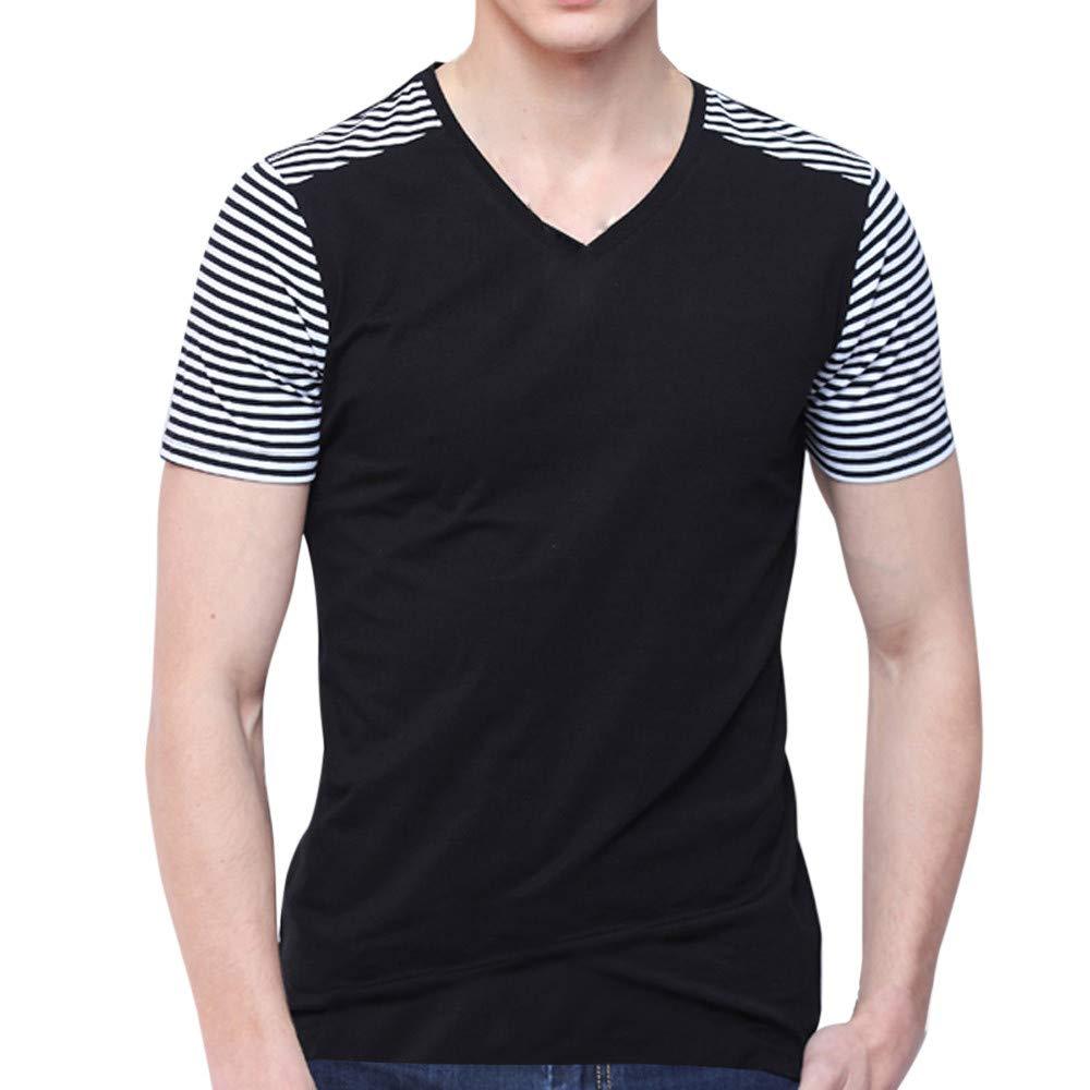JiaMeng Moda Blusa Deportivas Pollover Camiseta Verano Personalidad Moda Tops Ocio Auto Cultivo Manga Corta Camisetas de Manga Corta Camiseta Blusa Tops