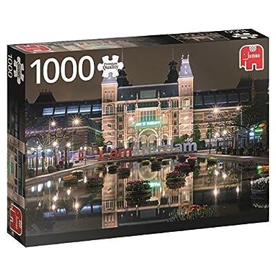 Jumbo 618351 Puzzle Rijksmuseum Di Notte Amsterdam