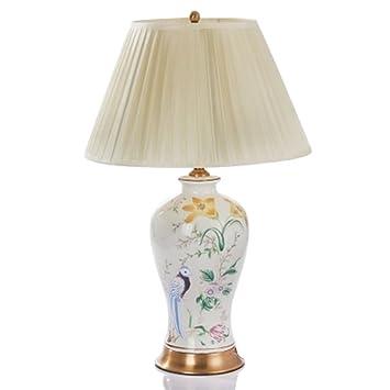 &Luz para leer Lámpara de mesa de cerámica - Dormitorio del ...