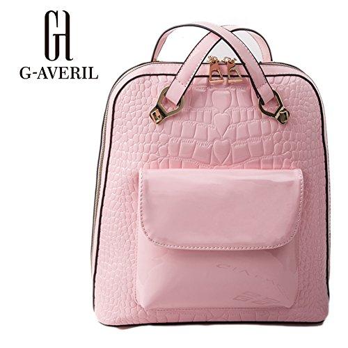 G-AVERIL GA1144-E - Bolso mochila  para mujer Beige beige rosa