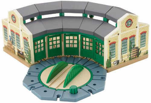 Fisher-Price Thomas & Friends Wooden Railway, Tidmouth Sheds Train Station - Train Station