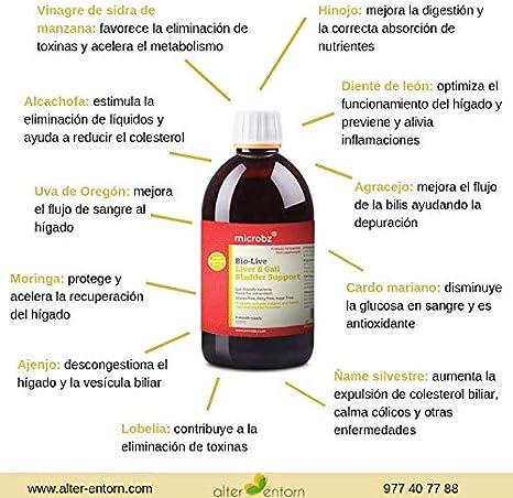 Bebida fermentada para el hígado y la vesícula biliar BIO-LIVE ...