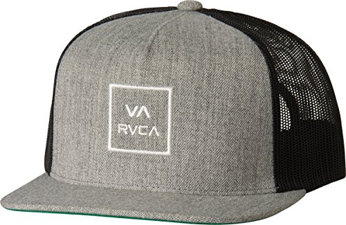 rvca-mens-all-the-way-trucker-hat-heather-grey-one-size
