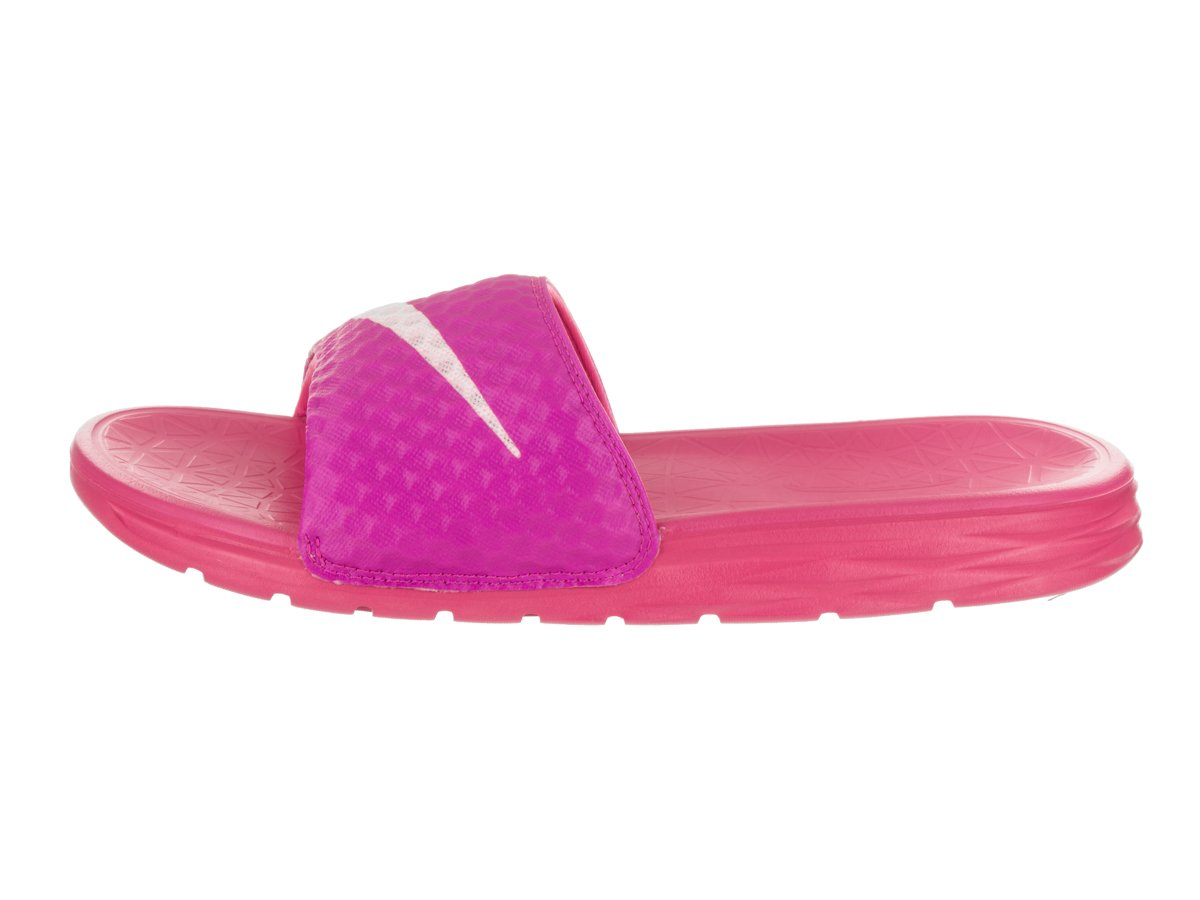 NIKE Women's Benassi Solarsoft Slide Sandal Pink/Prism B01F47BFMK 9 B(M) US|Fire Pink/Prism Sandal Pink e47cd5