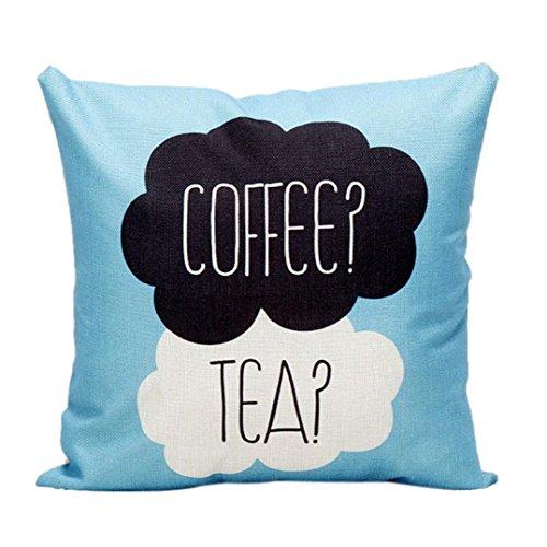 Ikevan Pillow Case Sofa Waist Throw Cushion Cover Home Decor(18